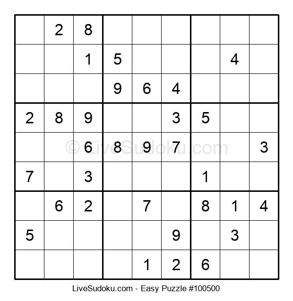 Beginners Puzzle #100500