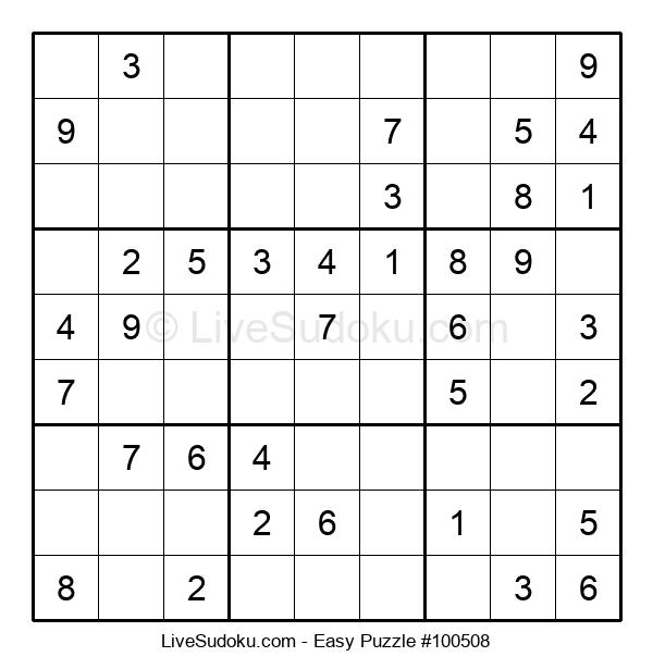Beginners Puzzle #100508