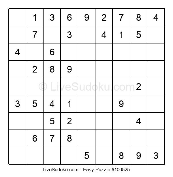 Beginners Puzzle #100525