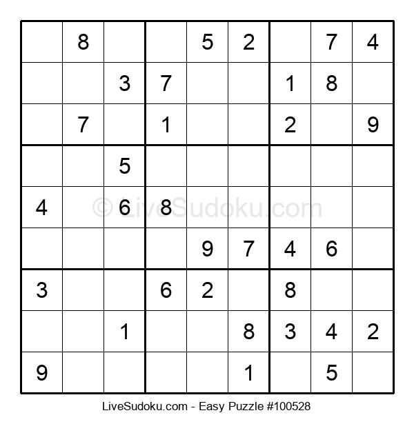 Beginners Puzzle #100528