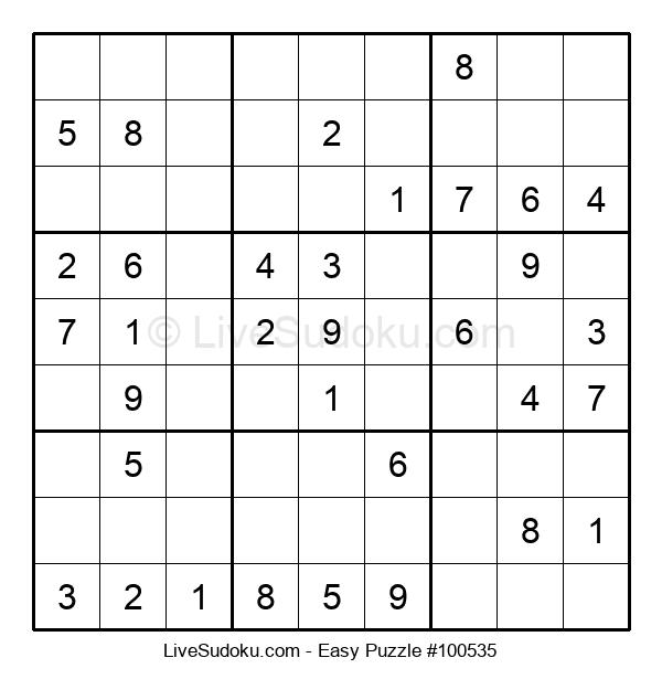 Beginners Puzzle #100535