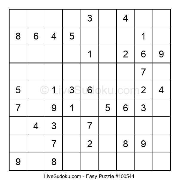 Beginners Puzzle #100544
