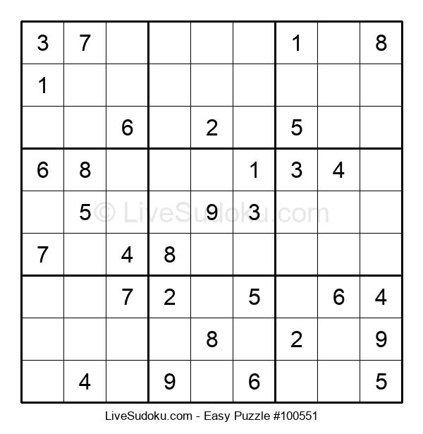Beginners Puzzle #100551