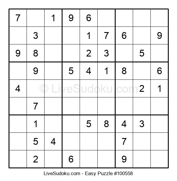 Beginners Puzzle #100558
