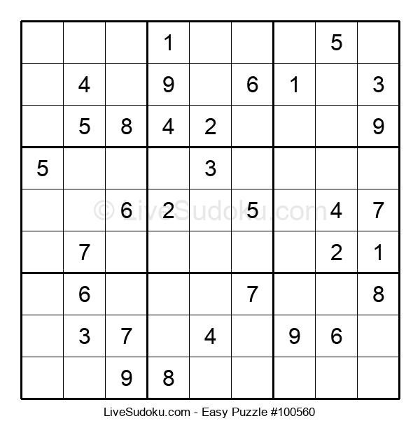 Beginners Puzzle #100560