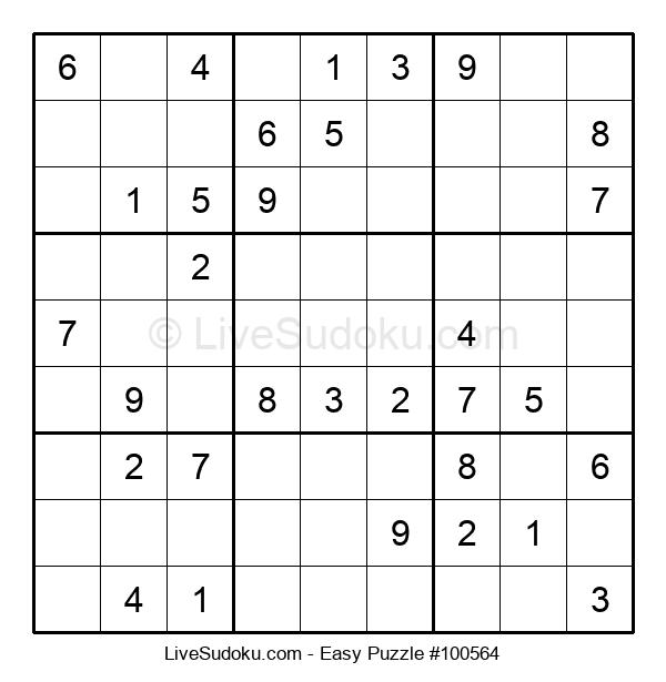 Beginners Puzzle #100564