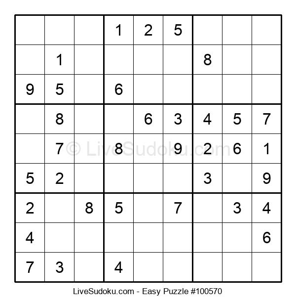 Beginners Puzzle #100570
