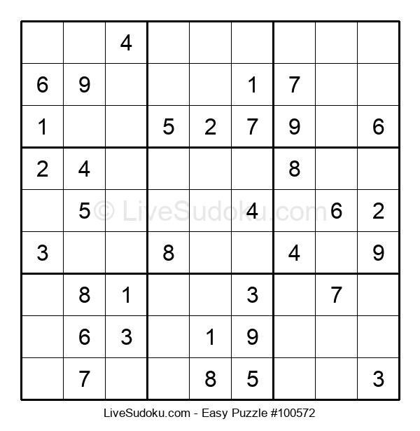 Beginners Puzzle #100572