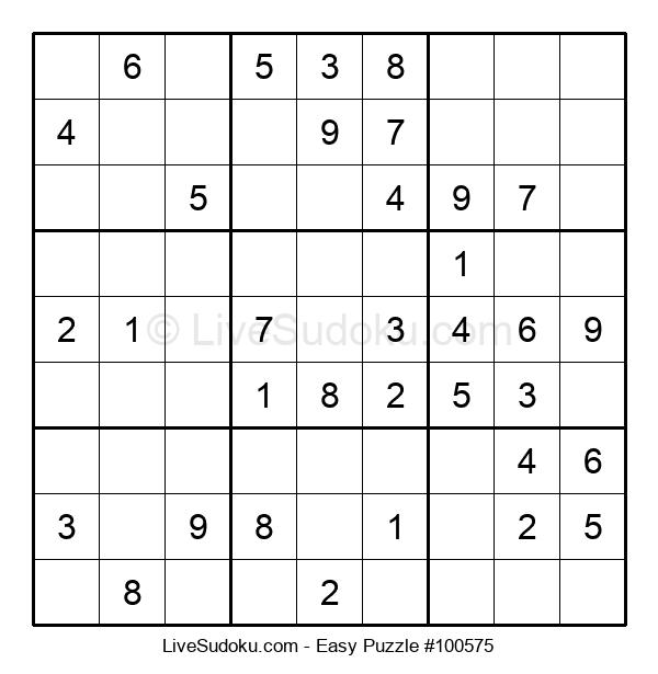 Beginners Puzzle #100575