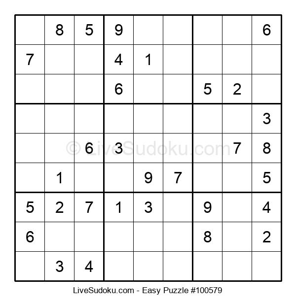 Beginners Puzzle #100579