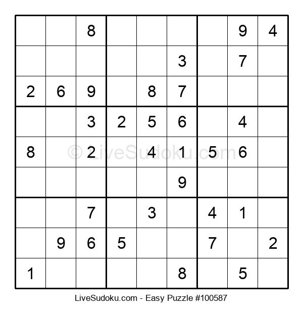 Beginners Puzzle #100587