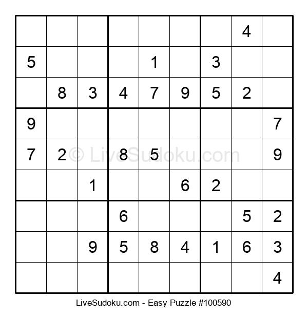 Beginners Puzzle #100590