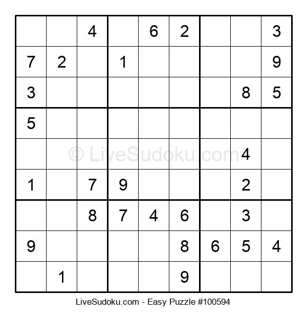 Beginners Puzzle #100594