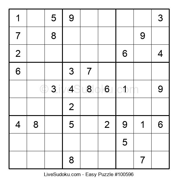 Beginners Puzzle #100596