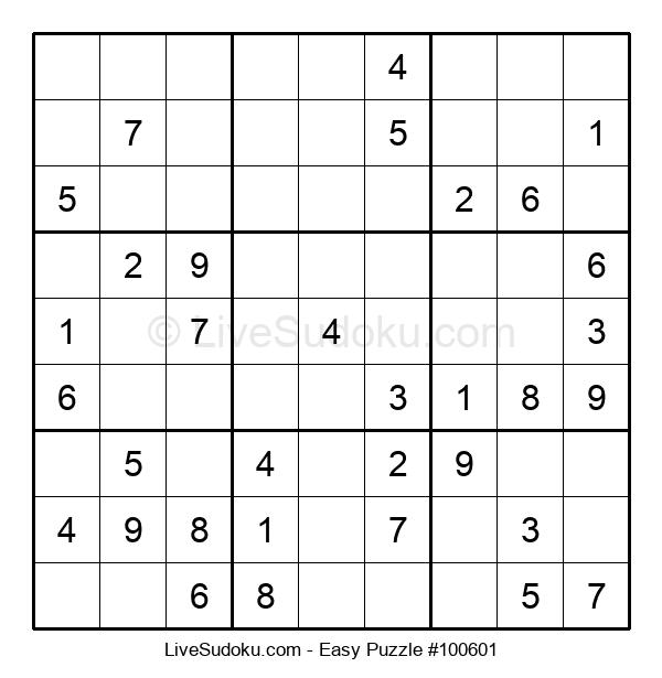 Beginners Puzzle #100601