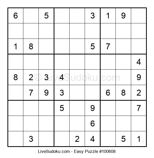 Beginners Puzzle #100608