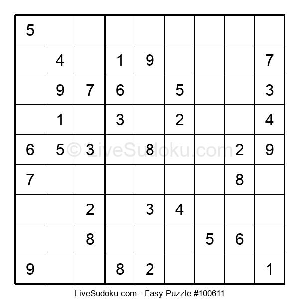 Beginners Puzzle #100611