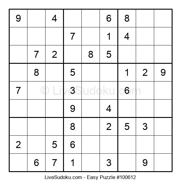 Beginners Puzzle #100612