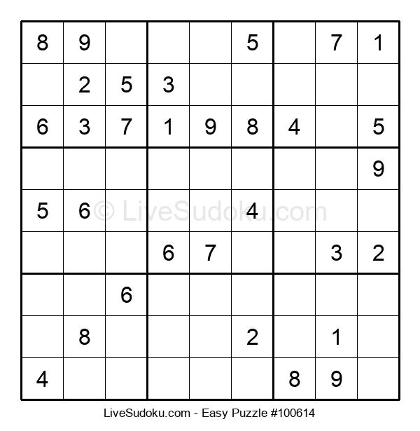 Beginners Puzzle #100614