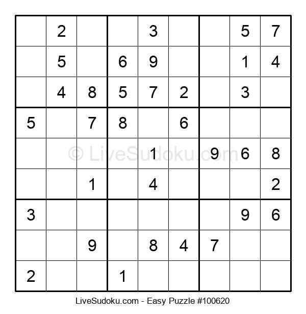 Beginners Puzzle #100620