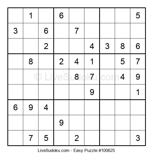 Beginners Puzzle #100625