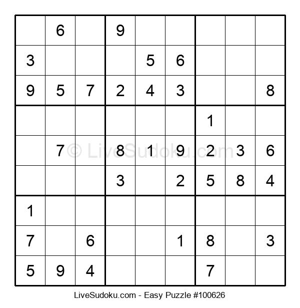Beginners Puzzle #100626
