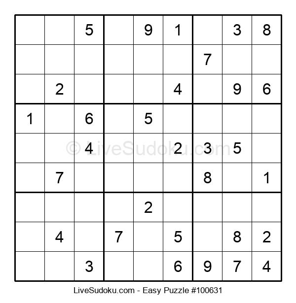 Beginners Puzzle #100631