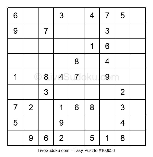 Beginners Puzzle #100633