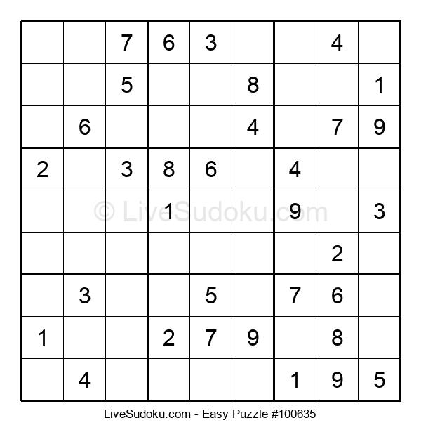 Beginners Puzzle #100635