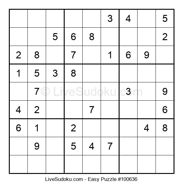 Beginners Puzzle #100636