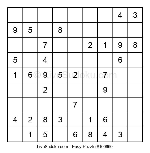 Beginners Puzzle #100660