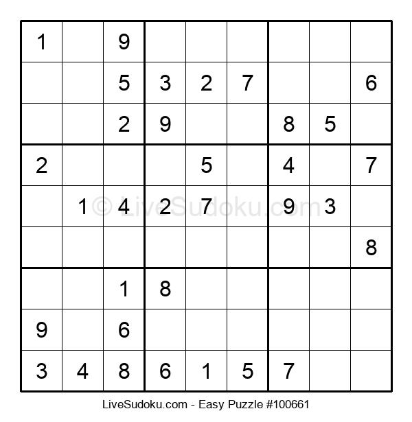 Beginners Puzzle #100661