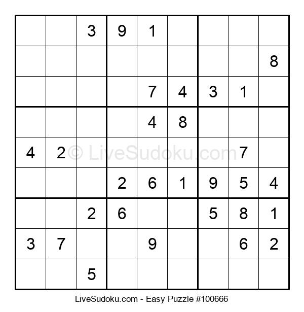 Beginners Puzzle #100666