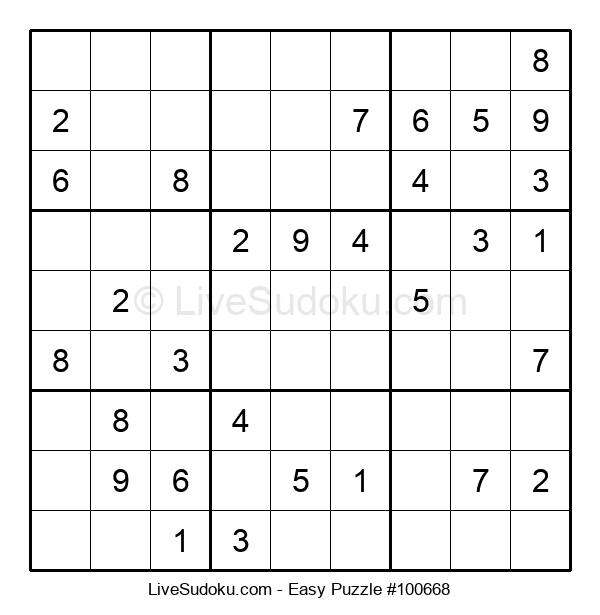 Beginners Puzzle #100668