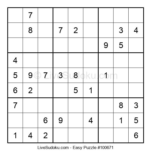 Beginners Puzzle #100671