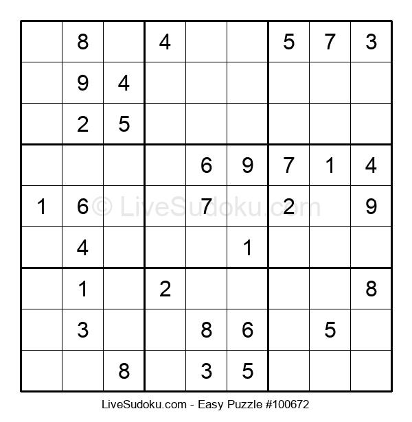 Beginners Puzzle #100672