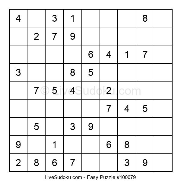 Beginners Puzzle #100679