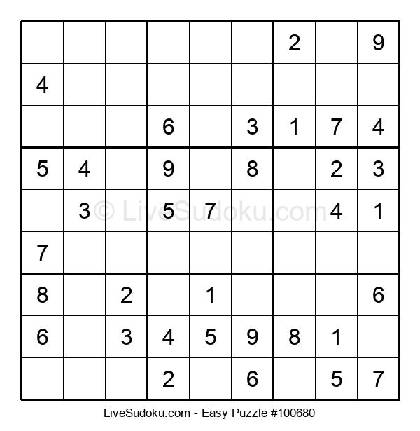 Beginners Puzzle #100680