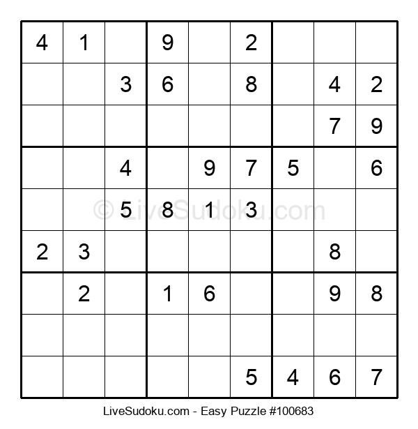 Beginners Puzzle #100683
