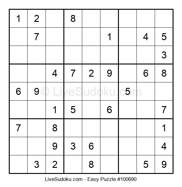 Beginners Puzzle #100690