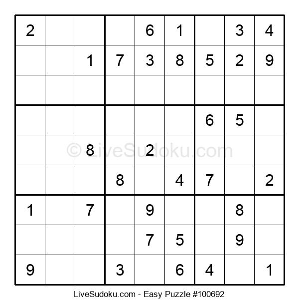 Beginners Puzzle #100692