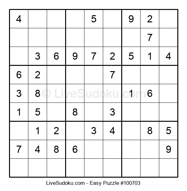 Beginners Puzzle #100703