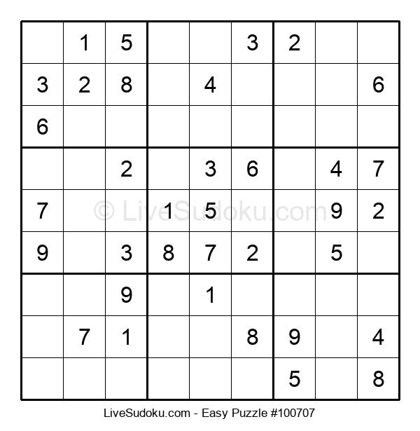 Beginners Puzzle #100707