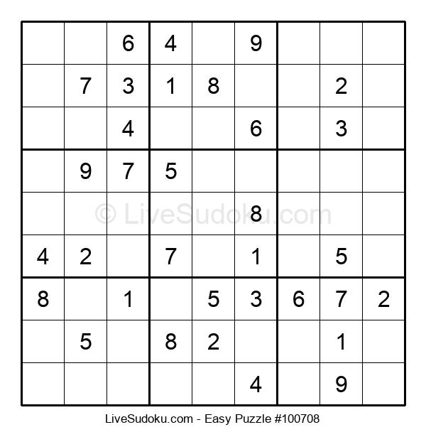 Beginners Puzzle #100708