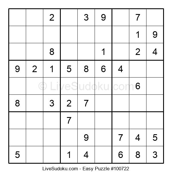 Beginners Puzzle #100722