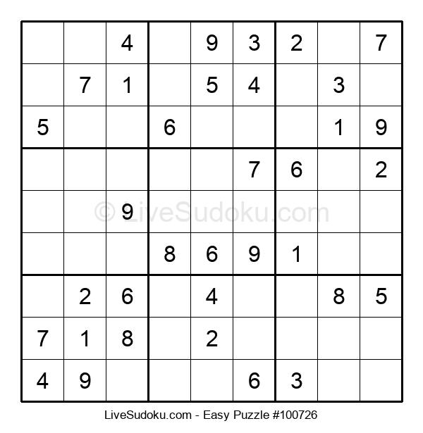 Beginners Puzzle #100726