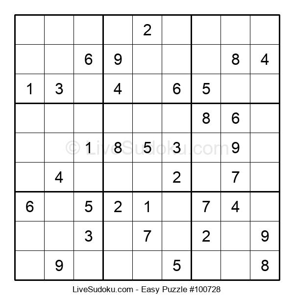 Beginners Puzzle #100728