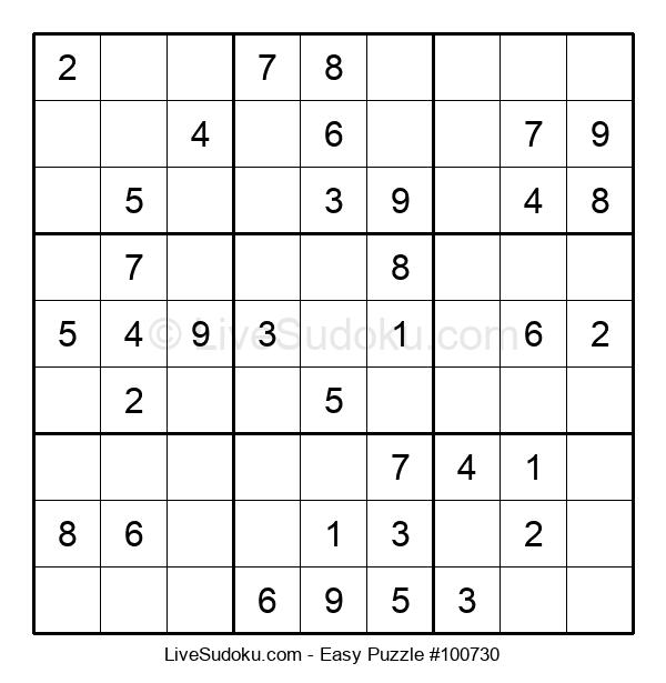 Beginners Puzzle #100730