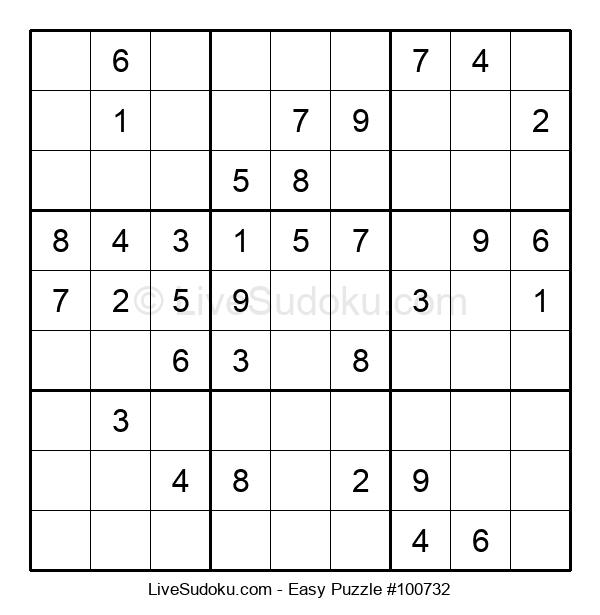 Beginners Puzzle #100732
