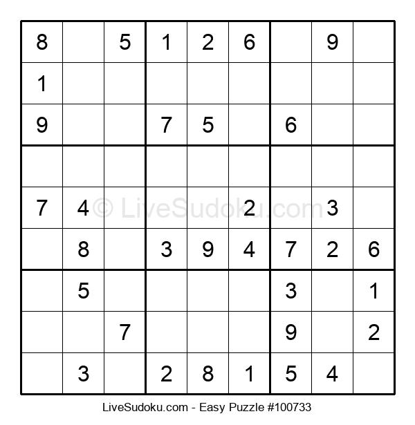 Beginners Puzzle #100733